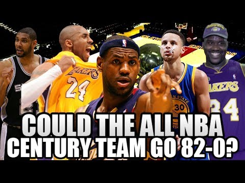 Could The All-NBA Century Team go 82-0?