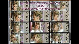 INCREIBLES PEINADOS CON TRENZAS AFRICANAS