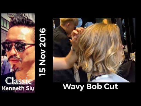 Kenneth Siu's Haircut – Wavy Bob Cut New