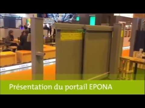 Présentation portail Epona avec motorisation invisible