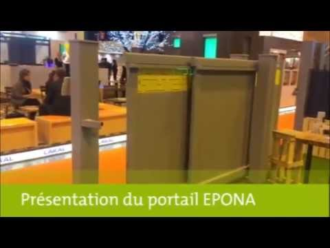 pr sentation portail epona avec motorisation invisible youtube. Black Bedroom Furniture Sets. Home Design Ideas