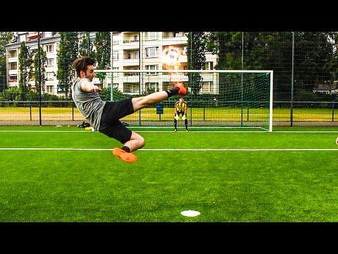 VOLLEY FUßBALL CHALLENGE + BESTRAFUNGEN !