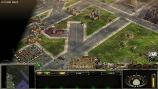 C&C Generals Contra 009 Assault general vs Infantry general[Hard](4)