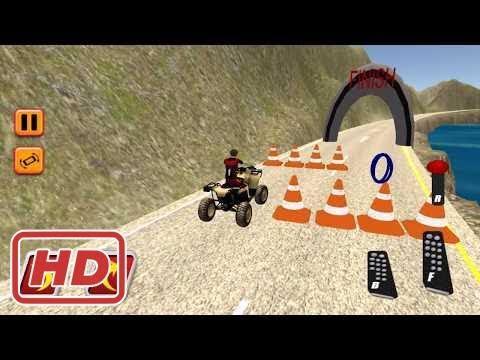 Bike Games - Bike Games - Quad Motor Bike Parking Off Road Race Simulator 3D - Gameplay Android fre