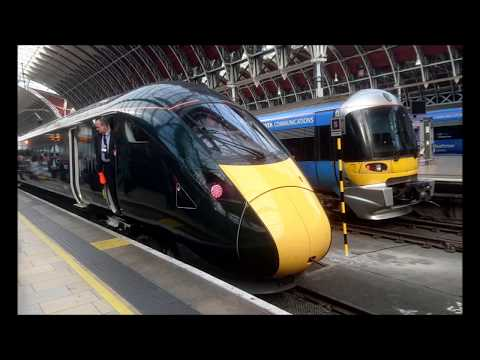 Great Western Railway's First day of Class 800 Intercity Express Trains in public service