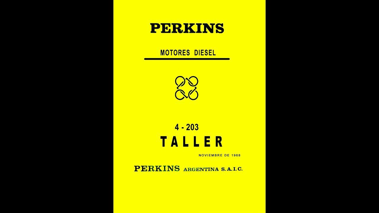 Manual Perkins 4203 6305 6354 reparación completa Handbook Perkins