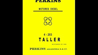 manual perkins 4203 6305 6354 reparacin completa handbook perkins