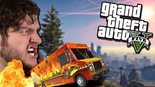 GTA 5 PC Online Funny Moments - STOP THAT TACO TRUCK! (Custom Games)