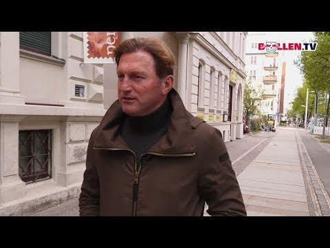 Ein Spaziergang mit Ralph Hasenhüttl durch Leipzig.