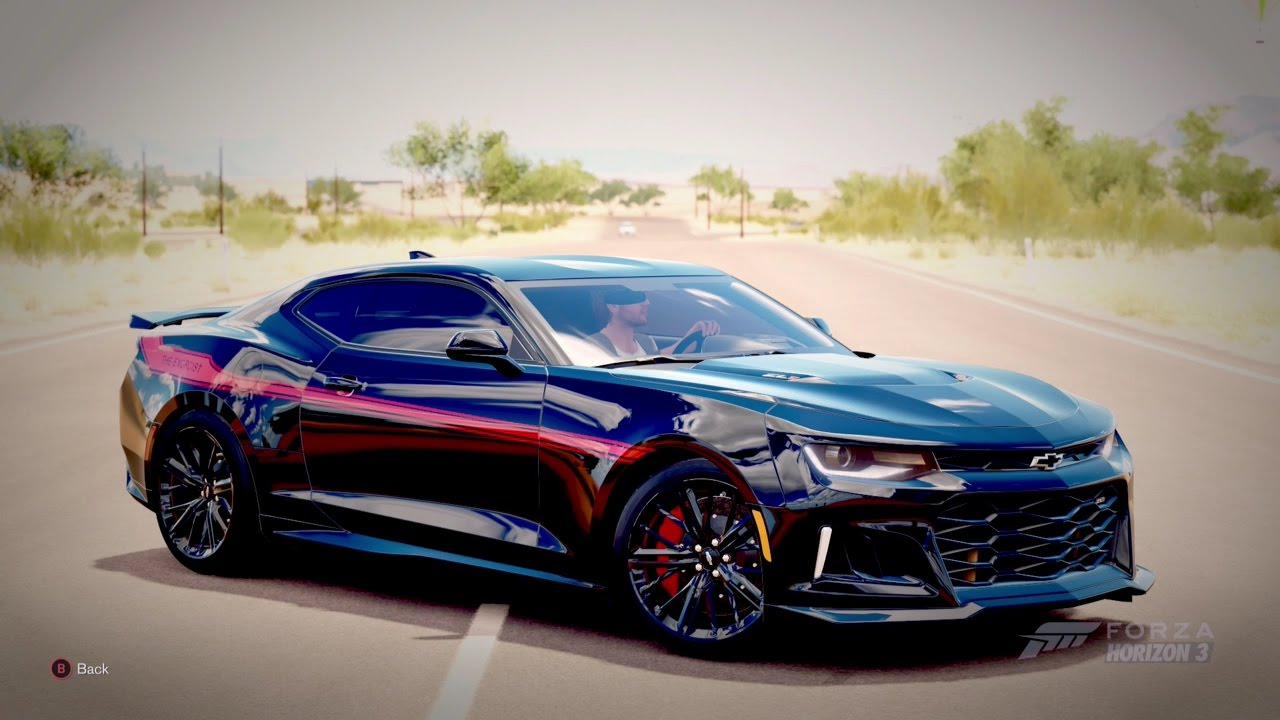 Forza Horizon 3 The Exorcist 1 000hp 2017 Camaro Zl1