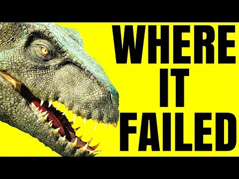 The Problem With Jurassic World: Fallen Kingdom