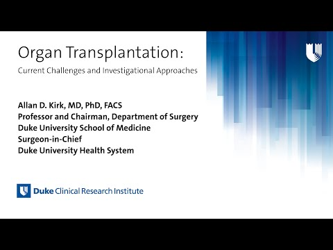 Organ Transplantation: Current Challenges and Investigational Approaches