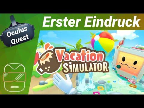 Oculus Quest deutsch Vacation Simulator: Erster Eindruck ...