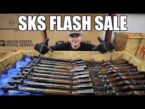 48 Hour Flash Sale On Chinese SKS Rifles