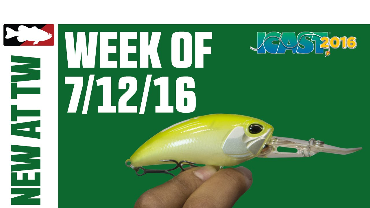 ee69005468b What's New At Tackle Warehouse w. Matt Solorio - 7/12/16 - YouTube