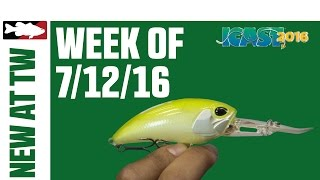 What's New At Tackle Warehouse w. Matt Solorio  - 7/12/16