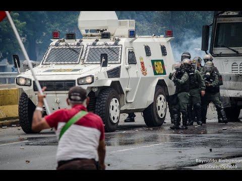 Protestas en Caracas, Venezuela 03/05/2017