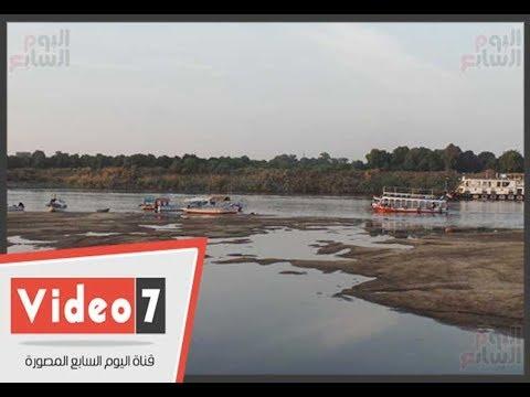 قرية المنصورية بأسوان.. -المعديات النيلية وتلوث المياه- خطر يهدد الأهالى  - 23:21-2017 / 11 / 22