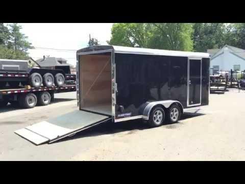 Sure Trac STR  Enclosed Cargo Trailer 7x16 7000# GVW STR8416TA