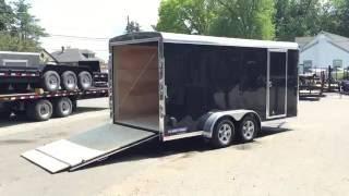 Sure Trac STR 7x16 Enclosed Cargo Trailer