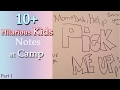 10+ Hilarious Kids Notes at Camp || Funny Notes Written By Kids-Part 1