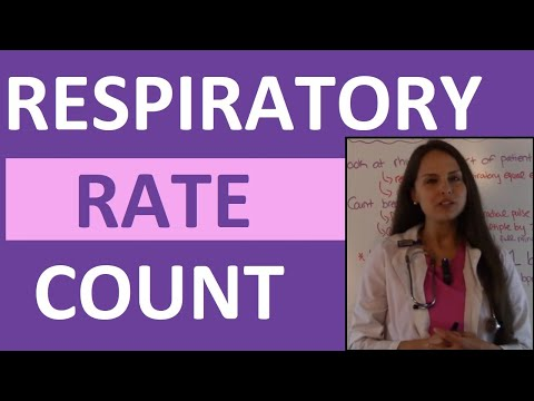 How To Count Respirations | Counting Respiratory Rate | Nursing Skills Video