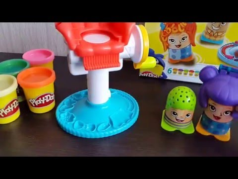 Play-Doh Кумедні Зачіски / Crazy Cuts / Le Coiffeur / Bunter Frisierspaß / Peinados Iocos