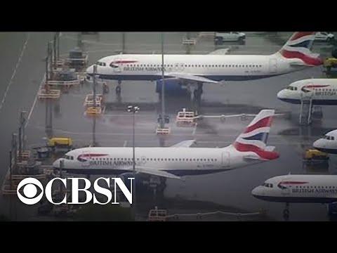 British Airways cancels nearly all flights over pilot strike