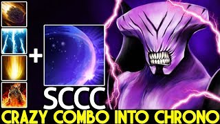 SCCC [Faceless Void] Crazy Combo into Chrono Cancer Gameplay 7.22 Dota 2