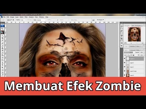 Menit Edit Foto, Efek Dispersal Photoshop Cara Simple | FunnyDog.TV