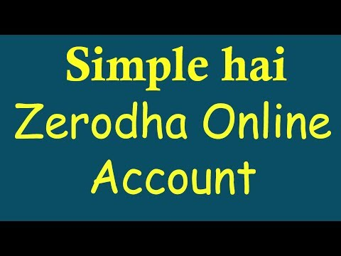 Zerodha account opening using your adhar online - sharmastocks.com