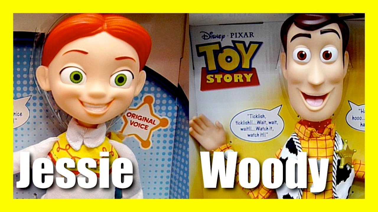 d80093c7ea Toy Story Talking Toys - Lots Of Laughs Woody - Cowgirl Jessie - Evil Dr  Porkchop Disney Pixar Toys