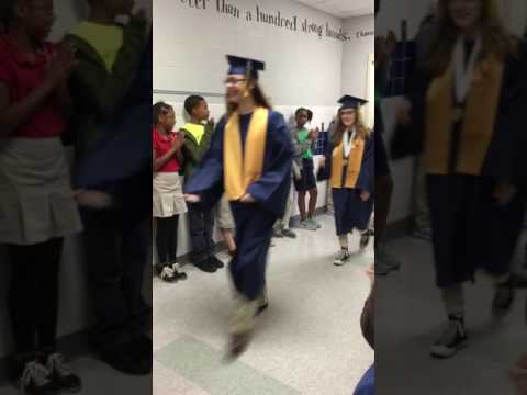 GHS Senior Walk at Martin Bluff Elementary