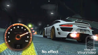 Need For Speed - No Limits : Android, Effect Comparison with json file