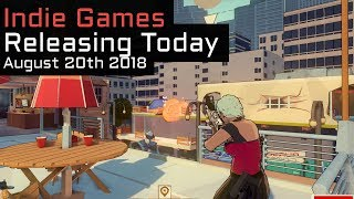 Top 4 New Indie Games Releasing Today - August 20th 2018