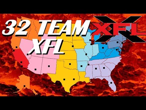XFL - 32 Team Expansion and Alignment Proposal