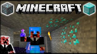 LUCKIEST MINECRAFT DIAMOND CAVING TRIP EVER?! | Let's Play Minecraft Survival