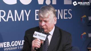 Ważne są pomysły - Bogdan Borusewicz, Marszałek Senatu o polskich firmach na CEBIT 2014