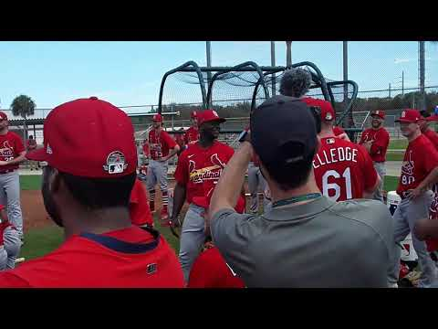 The Fast Lane at Spring Training 2020 : Mike Shildt Address Team