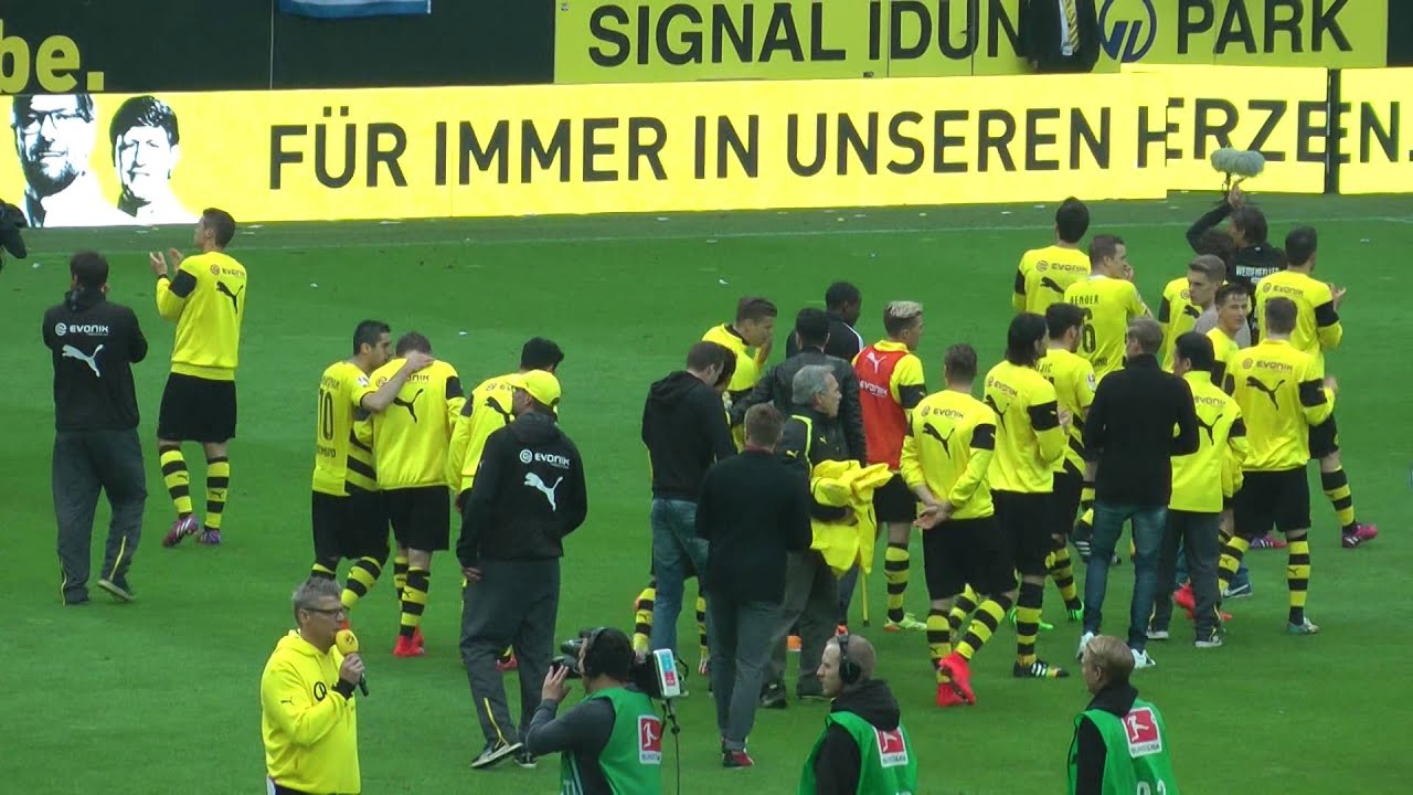 BVB - Werder: Abschied von Jürgen Klopp und Sebastian Kehl