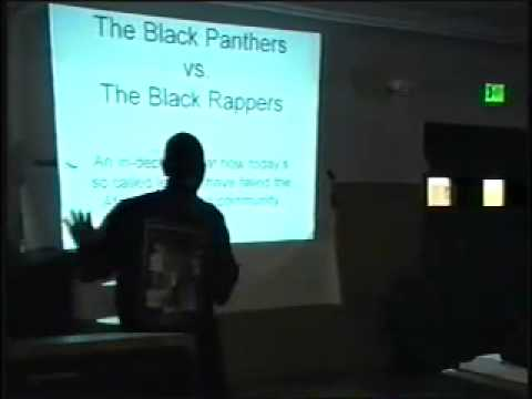"""The Black Panther Party vs The Black Rappers """"Who"""" Party"""