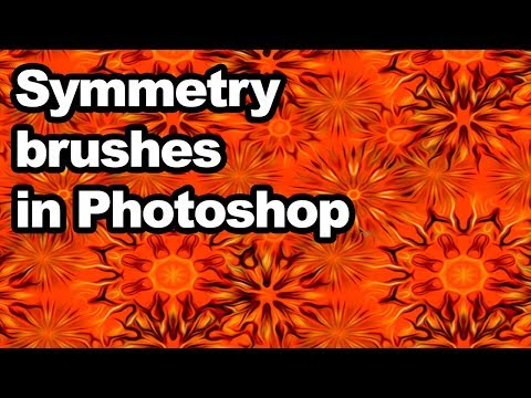Photoshop tutorial : Symmetry brushes and layers thumbnail