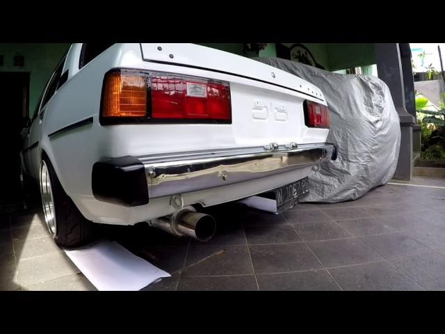 Toyota Corolla Dx 1980 Ke70 Incredible Start Sound