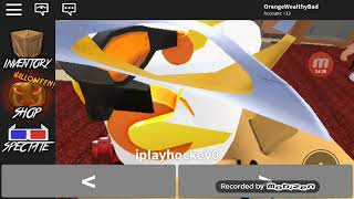 Playing MM2 (Murder Mystery) on Roblox! (First vid...)