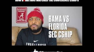 How Bama Fans Watched The Conference Championships