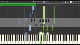 HiVi! - Pelangi (Piano Tutorial)