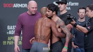 Download UFC 236 Ceremonial Weigh-In Highlights - MMA Fighting Mp3 and Videos
