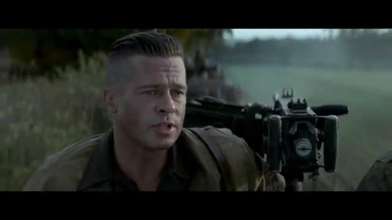 Copy Of FURY Official Trailer Starring Brad Pitt YouTube - New official trailer fury starring brad pitt