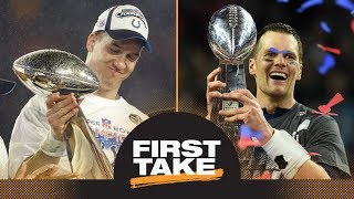 First Take reacts to ESPN The Magazine ranking Peyton Manning as a ...