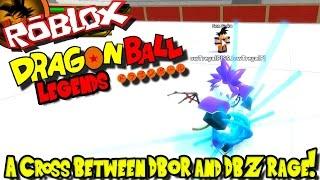 A CROSS BETWEEN DBOR AND DBZ RAGE! | Roblox: Dragon Ball Legends